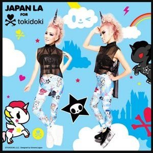 Japan LA for Tokidoki BNWT Unicorno leggings Read*